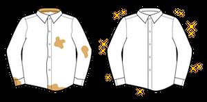 シャツのクリーニング・洗濯
